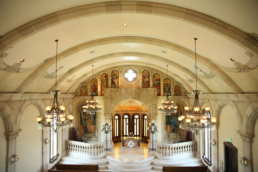 Alamo Texas Feel In This Gorgeous Traditional Chapel Wedding & Sophisticated Indoor Reception  | Photograph by Fairy Tale Photography