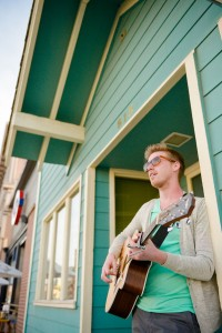 Coffee House Street Musician Engagement Session Elevate Photography (1)