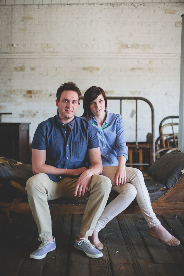 The Essence Of Woody Allen & Wes Anderson Captured In A Quirky Cool Greensboro North Carolina Engagement Session   Photograph by Blest Photography
