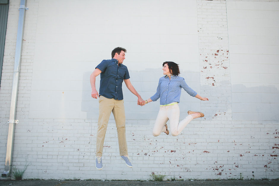 The Essence Of Woody Allen & Wes Anderson Captured In A Quirky Cool Greensboro North Carolina Engagement Session | Photograph by Blest Photography