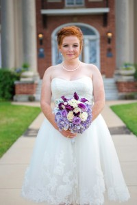 Electric Purple Vintage Inspired Wedding At Thistle Hill Mansion In Fo...