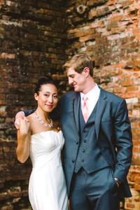 Modern_Chevron_Coral_Wedding_CAM_Raleigh_Carolyn_Scott_Photography_23-v