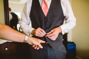 Modern_Chevron_Coral_Wedding_CAM_Raleigh_Carolyn_Scott_Photography_9-h