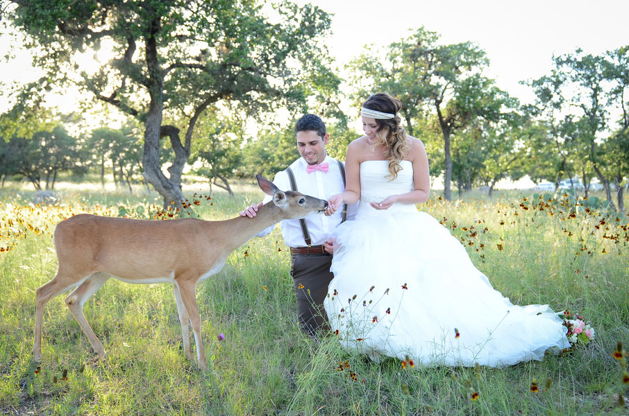 Romantic Bohemian Chic Austin Texas Style Set Among The Deer Filled Fields Of Events at the Pointe | Photograph by Eureka Photography