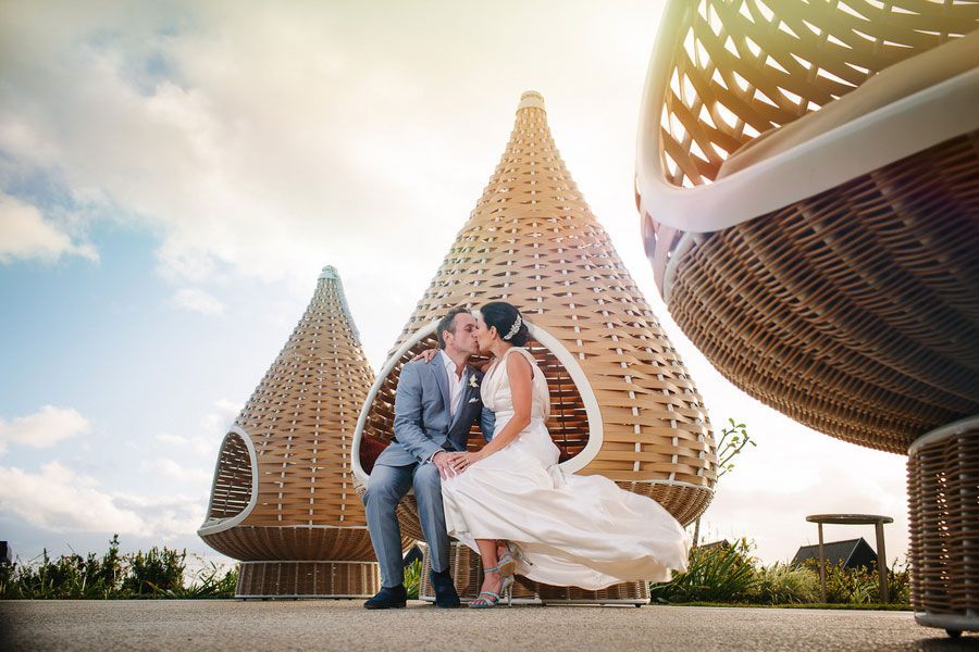 Wonderfully Sophisticated Lush Tropical Destination Wedding At Intercontinental Hotel Fiji Photograph By Hilary Cam Photography