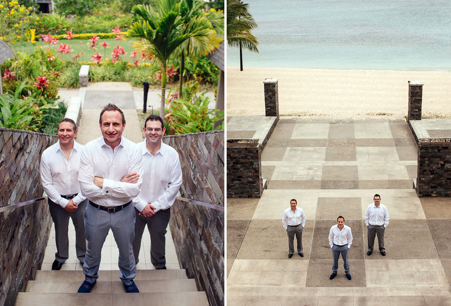 Wonderfully Sophisticated Lush Tropical Destination Wedding At Intercontinental Hotel Fiji | Photograph by Hilary Cam Photography
