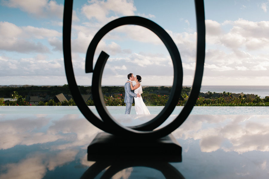 Wonderfully Sophisticated Lush Tropical Destination Wedding At Intercontinental Hotel Fiji