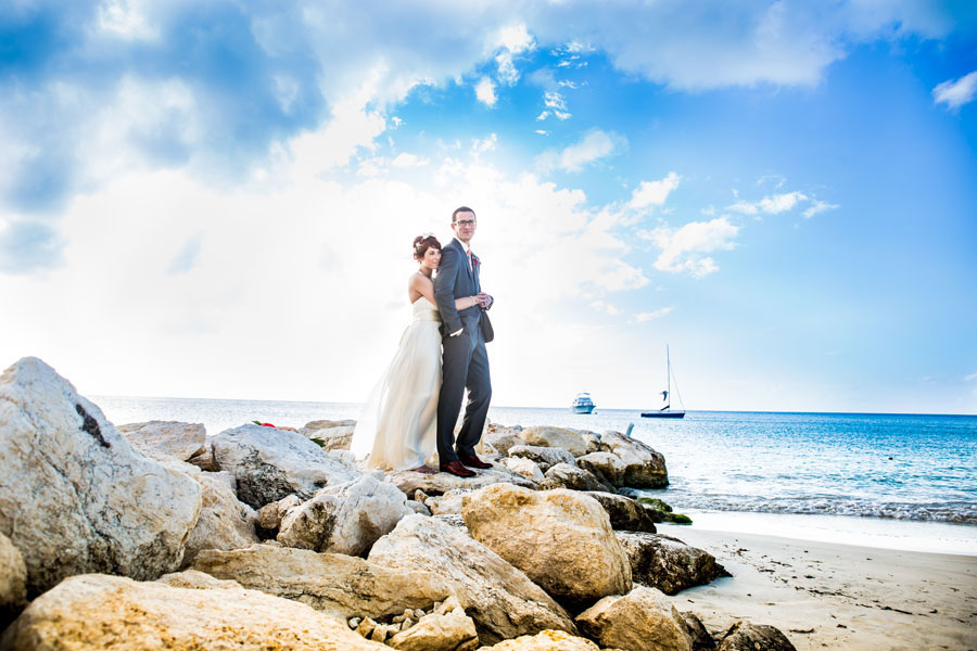 47d96bb754cf Tropical Destination Beach Wedding At Sandals Grande Antigua Resort Complete  With Postcard Sunset