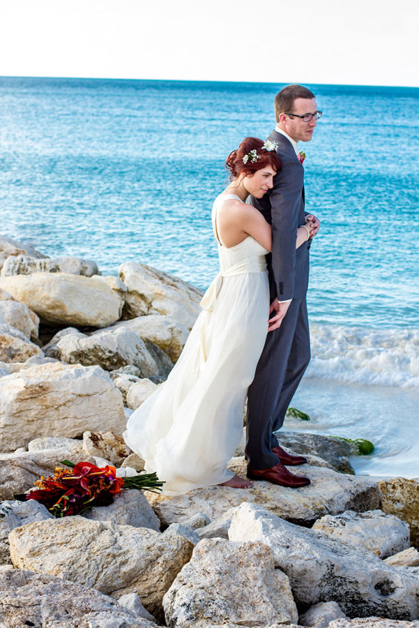 Tropical Destination Beach Wedding At Sandals Grande Antigua Resort Complete With Postcard Sunset   Photograph by Bartlett Pair Photography