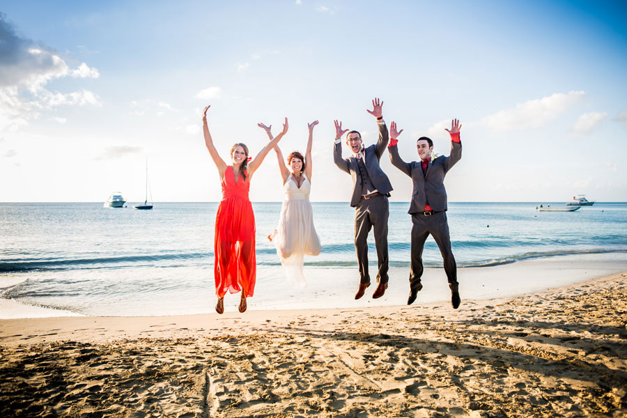 a5e6d313086e ... Tropical Destination Beach Wedding At Sandals Grande Antigua Resort  Complete With Postcard Sunset