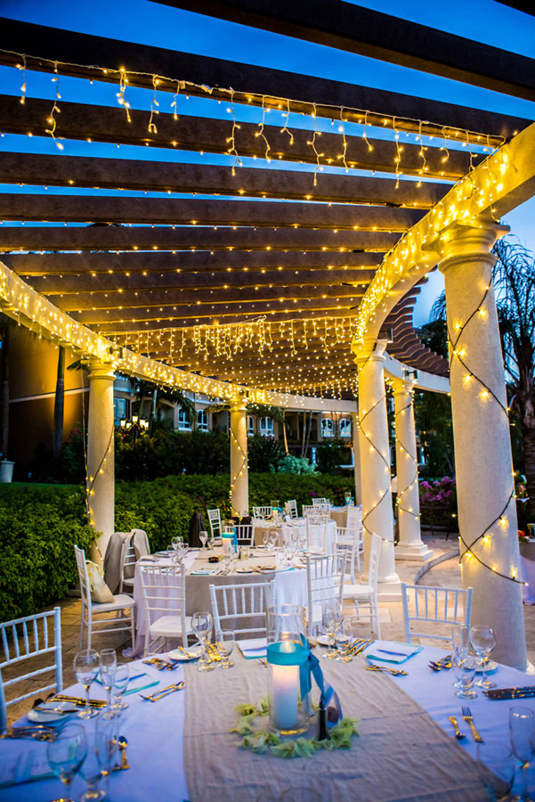 Tropical Destination Beach Wedding At Sandals Grande Antigua Resort Complete With Postcard Sunset Photograph By