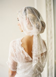 Why It Works Wednesday: Vintage Veil Luxury In Dots & Lace From Cheryl Taylor of Taylor Clarke B...