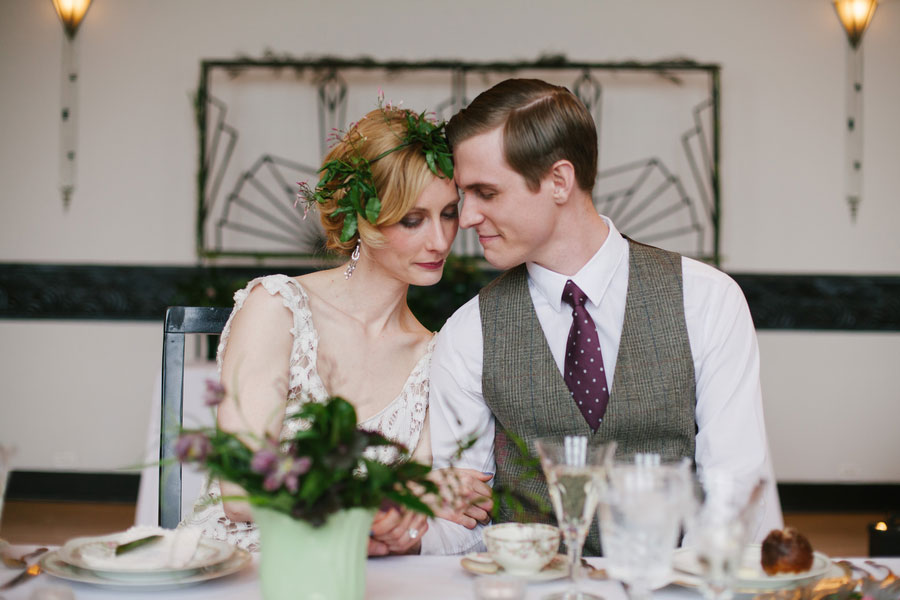 Stunning Chicago Art Deco Inspired Wedding Along The Shores Of Lake Michigan   Photograph by Spark + Tumble Photography