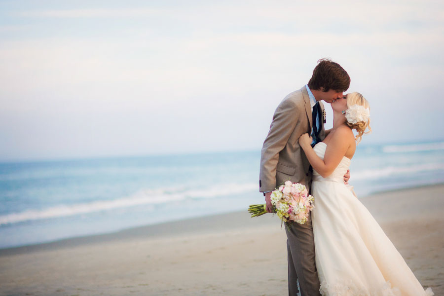 Nautical Outer Banks Beach Wedding In The Sands Of Corolla Village Photograph By Mary Basnight