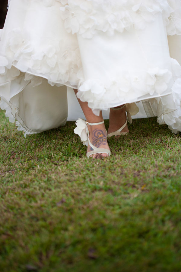 Nautical Outer Banks Beach Wedding In The Sands Of Corolla Village | Photograph by Mary Basnight Photography