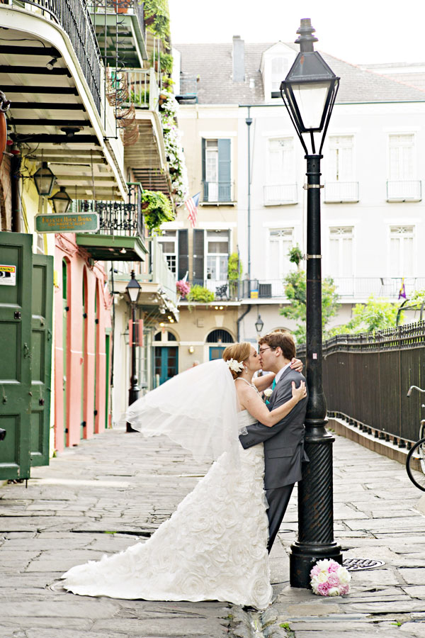 Classic Southern French Quarter New Orleans Wedding With Vintage Touches