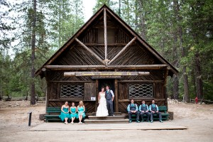 The Grandeur Of Glacier Point On Display In This Rustic DIY Yosemite Park Wedding