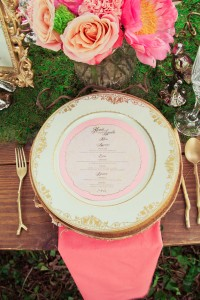Glam Take On Midsummer Nights Dream Wedding In The Gardens of Bartow P...