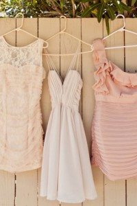 Why It Works Wednesday: Mix Matched Bridesmaid Dresses In Creamy Neutr...