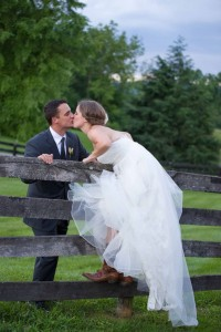 Country Chic Virginia Wedding At Silverbrook Farm Filled With DIY Deco...