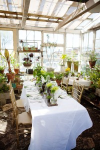 Gorgeous Organic Botanical Greenhouse Garden Wedding At The Condor's Nest Ranch | Photograph by Chris Wojdak Photography