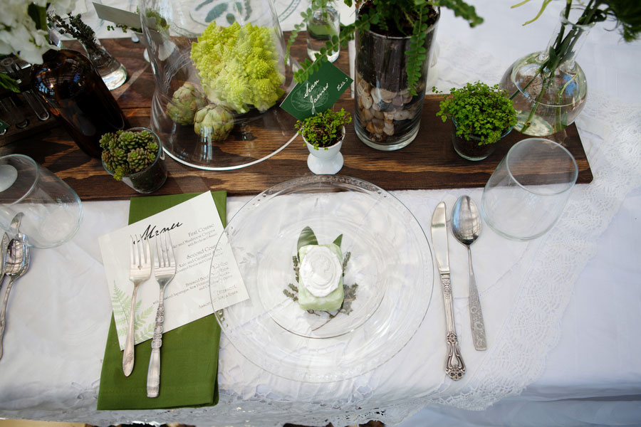 Gorgeous Organic Botanical Greenhouse Garden Wedding At The Condor