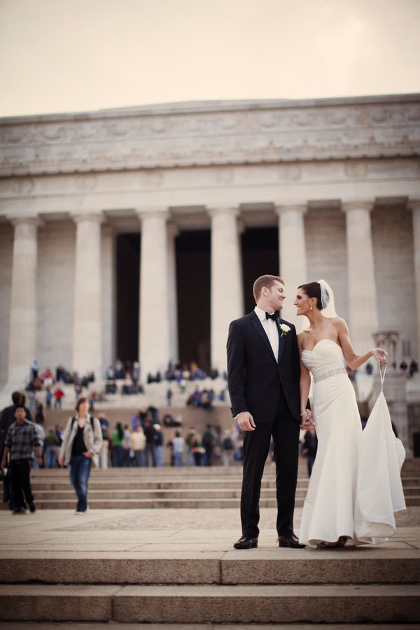 A Swoony Iconic Luxury Black Tie Washington DC Wedding With Georgetown Ceremony | Photograph by Bright Bird Photography
