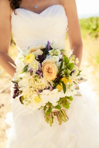 Traditional Modern California Winery Wedding Al Fresco In Purple & Soft Butter Yellows | Photograph by  A. Blake Photography