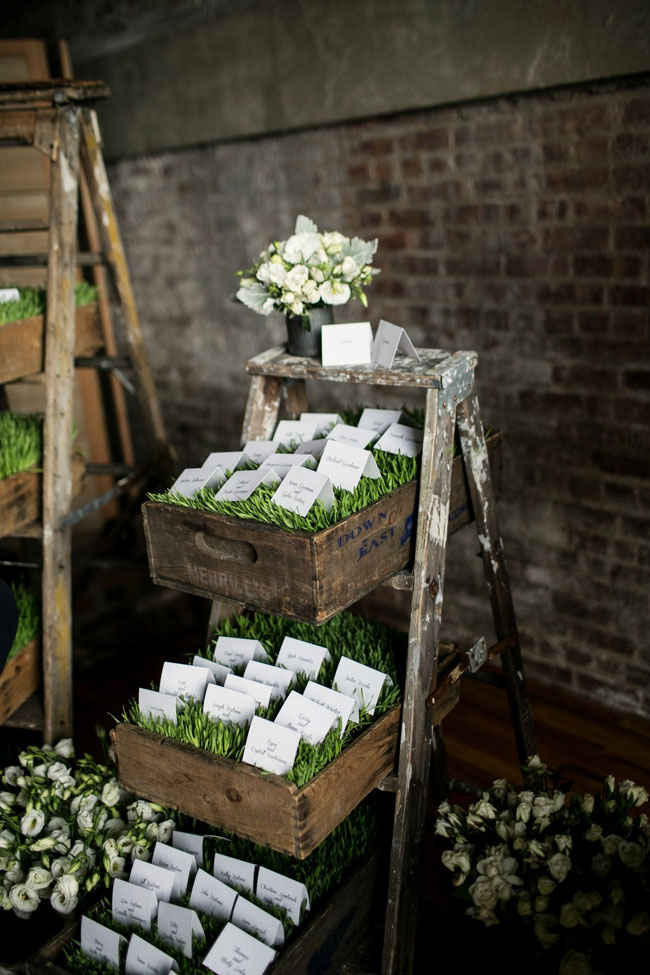Chic Red Hook Brooklyn Liberty Warehouse Wedding Filled With Billowy Blooms & True Love | Brookelyn Photography  https://www.storyboardwedding.com/chic-red-hook-brooklyn-liberty-warehouse-wedding/