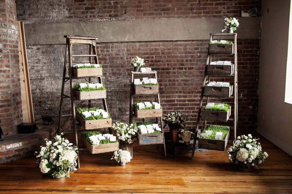 Chic Red Hook Brooklyn Liberty Warehouse Wedding Filled With Billowy Blooms & True Love | Brookelyn Photography  http://www.storyboardwedding.com/chic-red-hook-brooklyn-liberty-warehouse-wedding/