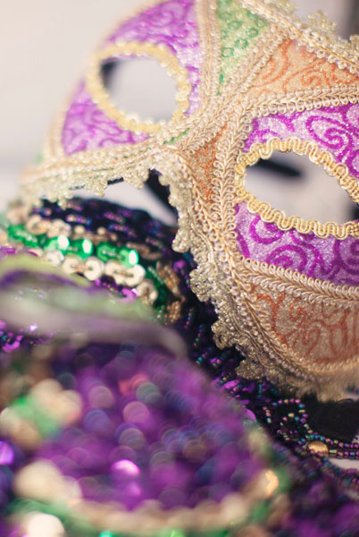 Las Vegas Bachelorette Party Boudoir With French Mardi Gras Undertones | Photograph by Mary Meyer Photography  http://www.storyboardwedding.com/las-vegas-bachlorette-party-boudoir-french-mardi-gras-undertones/