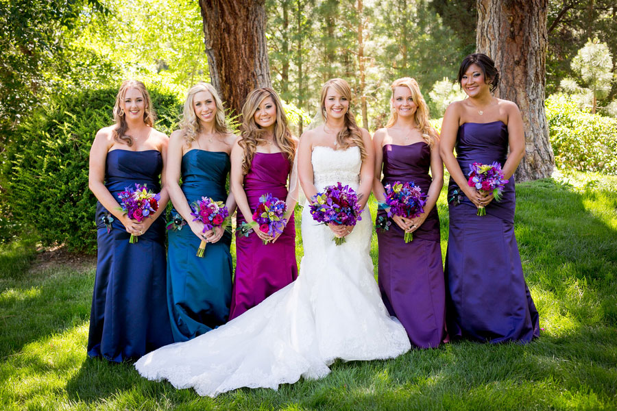 Baroque Style Enchanted Outdoor Garden Peacock Inspired Wedding | Photograph by Eric Asistin Photography