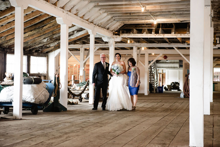 Romantic Nautical Infused Port Edward British Columbia Wedding At The North Pacific Cannery | Photograph by Stefania Bowler Photography