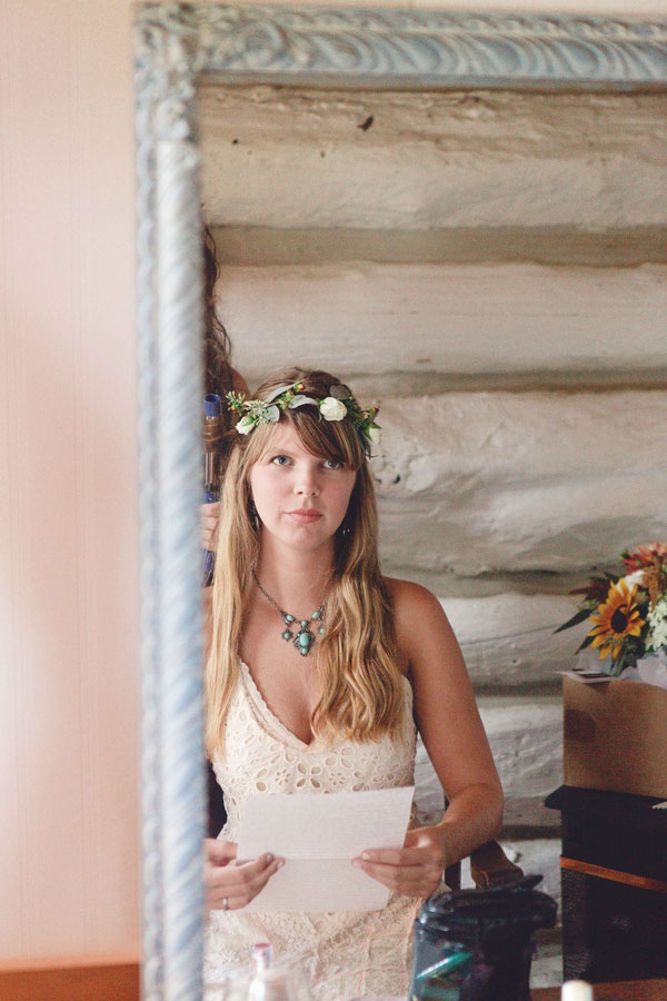 Rustic Boho Chic Wedding Filled With Wild Flower Love & A Barn Perfect For Dancing   Photograph by Dan and Melissa Photography