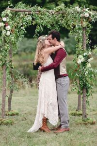Rustic Boho Chic Wedding Filled With Wild Flower Love & A Barn Per...
