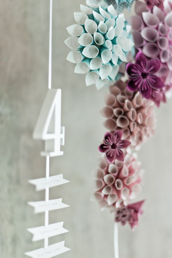 how to make a paper cone for flowers