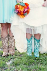 Bold Colors & Rustic Chic Perfection In This Georgetown Texas Country Wedding