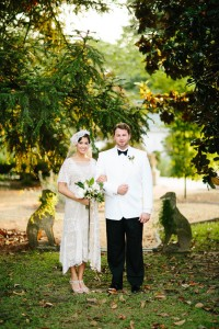 Vintage Southern Glamour In This Retro 1920s Infused Wedding Under The Open Skies