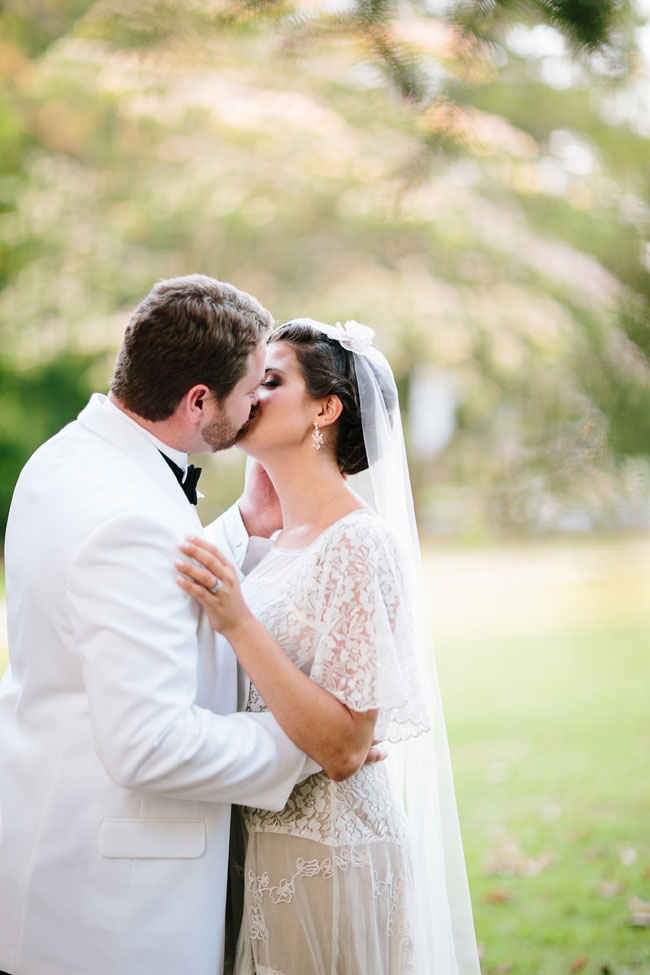Vintage Southern Glamour In This Retro 1920s Infused Wedding Under The Open Skies   Photograph by Elle Puckett Photographer