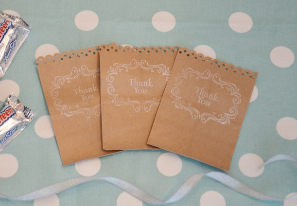 DIY Paper Favor Guest Bags By Budget Savvy Bride