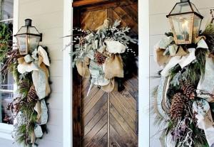 Neutral Winter Wedding Decor via Thistle Wood Farms FT