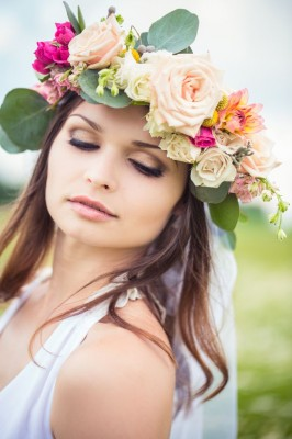Oversized floral crown The Civil Wars via Fab You Bliss