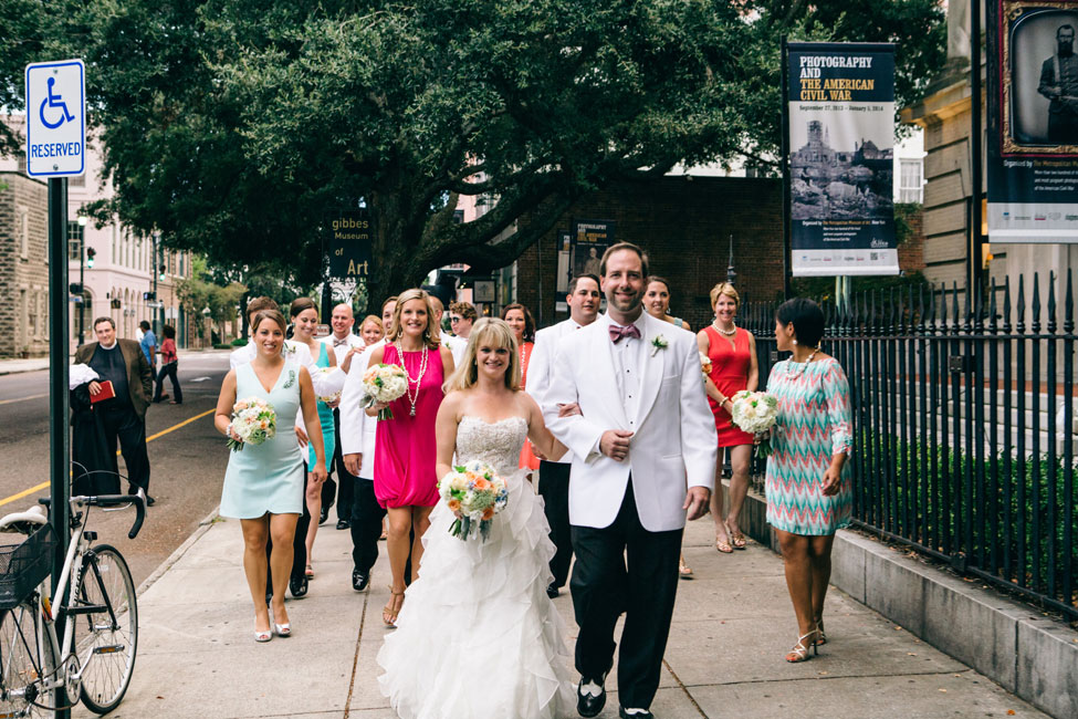 Quirky Charleston South Carolina Wedding In The Gardens Of The Gibbes Museum of Art | Photograph by Jeanne Mitchum Photography  http://www.storyboardwedding.com/quirky-charleston-south-carolina-wedding-gibbes-museum-of-art/