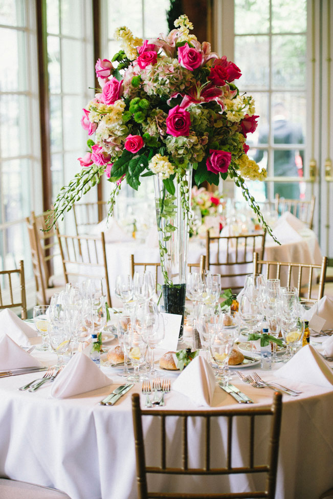 Chic Central Park Wedding In Pink & Green With A Slight Preppy Side | Photograph by Esvy Photography https://www.storyboardwedding.com/summer-central-park-wedding-pink-green/