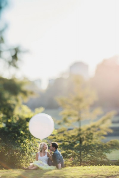 Dreamy Atlanta Engagement Session From Giant Balloons To Air Stream Trailer Food Trucks | Photograph by Hello Miss Lovely
