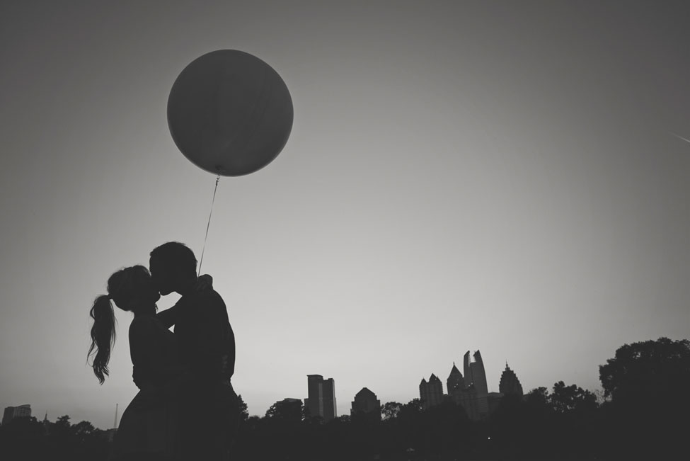 Dreamy Atlanta Engagement Session From Giant Balloons To Air Stream Trailer Food Trucks | Photograph by Hello Miss Lovely  http://storyboardwedding.com/atlanta-engagement-session-giant-balloons-air-stream-trailer-food-trucks/