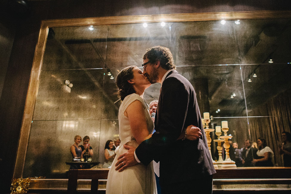 Intimate Modern Chicago West Loop Mimimalist Wedding At The Chic Sepia | Photograph by Spark + Tumble Photography  https://storyboardwedding.com/modern-chicago-west-loop-wedding-sepia/