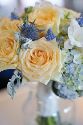 Rustic Industrial Twist On A Soft Winter Wedding Color Palette Of Light Blue, Buttercup Yellow & Beige | Photograph by dani. fine photography  http://www.storyboardwedding.com/rustic-industrial-twist-soft-winter-wedding-color-palette/