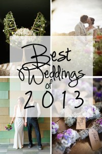 Best Weddings of 2013