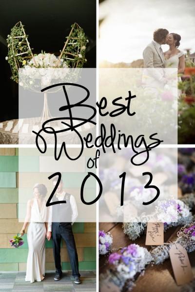 SBW Best Weddings of 2013